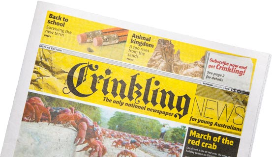 Crinkling Display Ed Preview