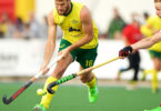 Matt Gohdes in action against Great Britain recently in Narrogin. Photo: Dan Carson / DC Images