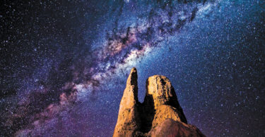 Milky Way, Pinnacles Desert, Galatic Core. Photo: Dylan O'Donnell