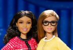 The new president and vice president Barbie dolls. Image: Mattel, AFP
