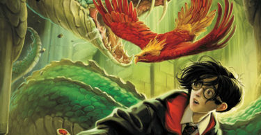Harry Potter and the Chamber of Secrets book cover. Image: Allen & Unwin