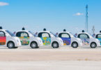Driverless cars in Austin, Texas, USA. Photo: Google