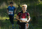 Ewan Shingler, the master orienteer, in action. Photo: supplied