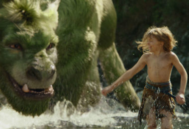 Oakes Fegley is Pete in the movie Pete's Dragon, the story of a boy named Pete and his best friend Elliot. Image: Disney