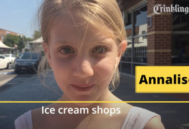 Kids zone. Ban adults from ice cream shops. Image: Crinkling News