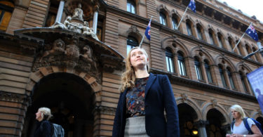Rachel Bailes Australian joined the Monarchist League at the age of 14. Photo: Carly Earl