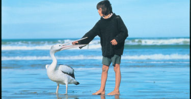 Mike and his best friend Mr Percival in the original Storm Boy film. Image: South Australian Film Corporation