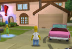 A scene from The Simpsons: Hit & Run.