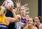 Kimberley Jenner will play for the Queensland Firebirds and cannot wait for Super Netball to begin. Photo: Netball Queensland Media