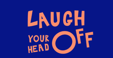 Laugh your head off book.