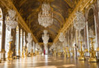 The Hall of Mirrors at the Palace of Versailles. Photo: copyright Jose Ignacio Soto/Shutterstock