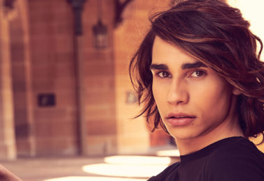 X-Factor's Isaiah Firebrace will represent Australia at the 2017 Eurovision Song Contest. Photo: supplied