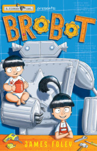 Brobot book cover. Image: Fremantle Press