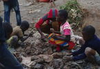 Children sorting cobalt ore in the neighbourhood of Kasulo, Kolwezi in the DRC in May, 2015. Photo: Amnesty International