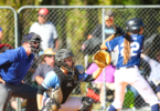 Maddison Heath helped guide NSW Metro to the Australian Youth Women's Baseball title in Canberra. Photo: Kangaroo Photos