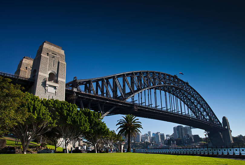 The Sydney Harbour Bridge. Photo: Bridge Climb