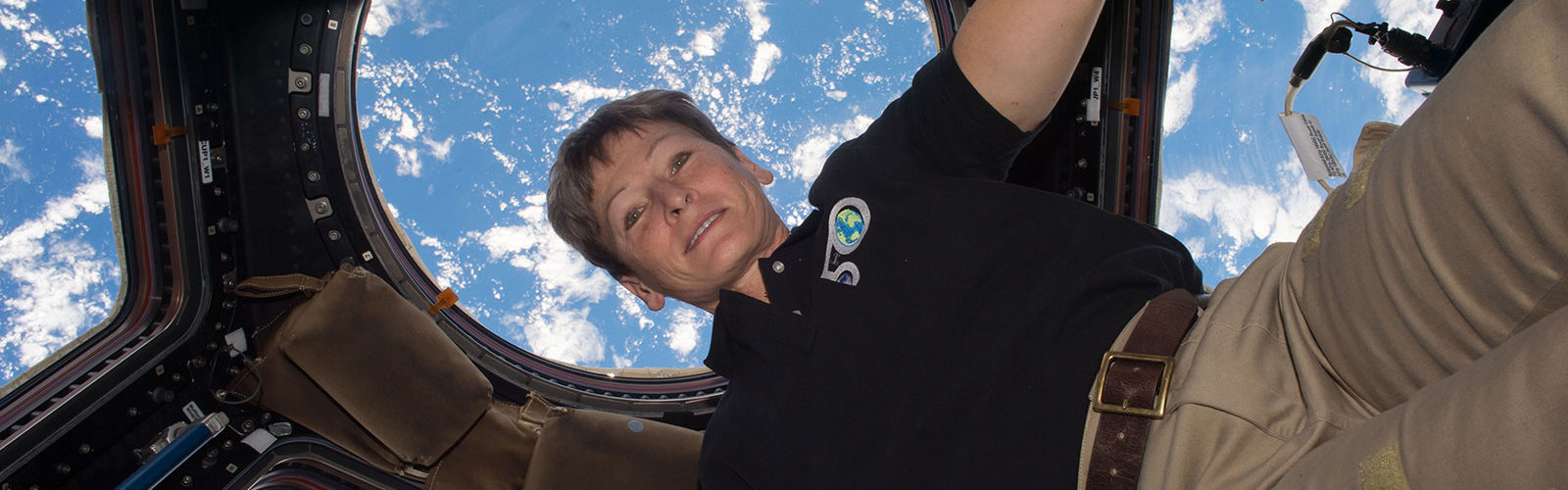 """It is one of those rides that you hope never ends."" @AstroPeggy tweeted to mark her record-breaking stay on the International Space Station. Photo: NASA"