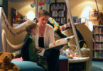 Mum and son read in the Book Bunker at the Children's Hospital in Westmead in Sydney. Photo: Children's Hospital at Westmead