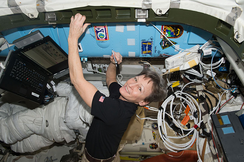 Peggy Whitson is the first woman to command the International Space Station – not once, but twice. Photo: NASA