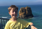 Luke Eaton visited the lighthouse at Aireys Inlet in Victoria.