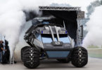 The NASA Mars Rover concept vehicle in action at the Kennedy Space Centre. Photo: NASA, Kim Shiflett