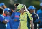 Australia's Meg Lanning after defeat in the ICC Women's World Cup semi-final at The County Ground, Derby. Photo: Nick Potts, PA, Getty Images