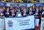 Hills booked another trip to the Little League World Series by defeating Swan Hills Aces in the Australian final on July 9. Photo: Joe Vella