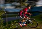 Louis Stibbard is a champion of cyclocross, cross-country racing on a bike. Photo: Peter Stoop