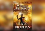 Percy Jackson and the Last Olympian book cover.