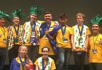 ROBOT Team Australia with second place silver medals. Photo: supplied