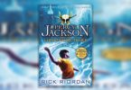 Percy Jackson and the Lightning Thief book cover.