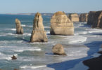The 12 Apostles are a collection of rock stacks off the coast of Victoria by the Great Ocean Road. Photo: David Kennedy