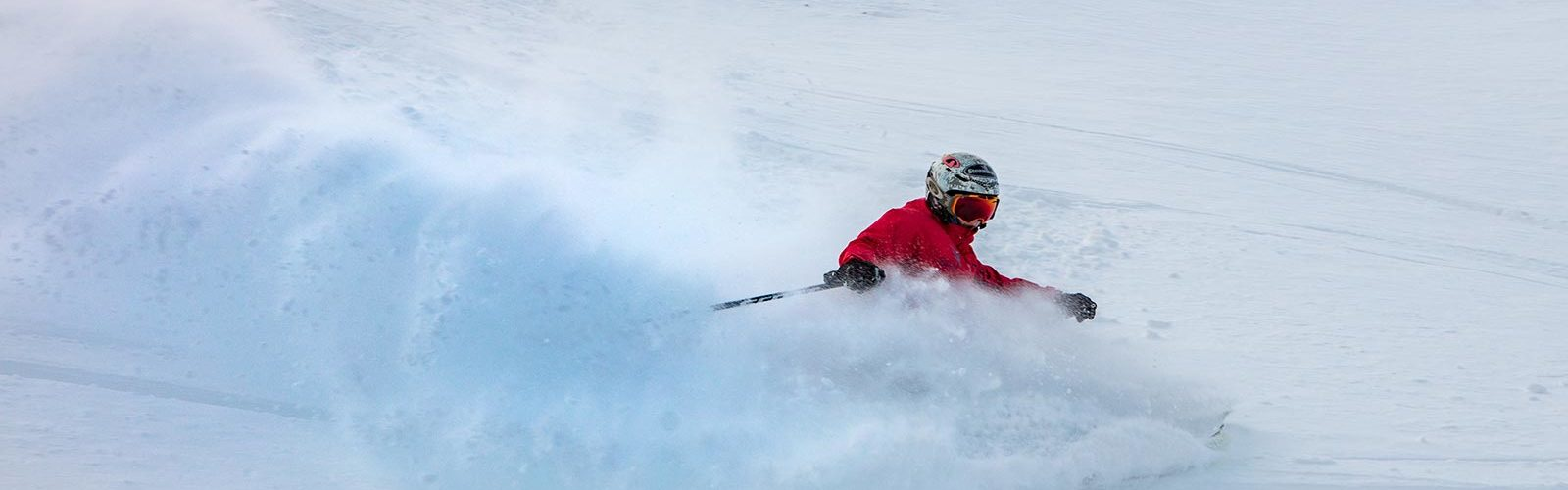 Tristan Rowley skis almost all year! He spends winter in Mount Hotham, and then travels to the United States and Japan for a few months during their snow season. Photo: Karl Gray, Mount Hotham Skiing Company