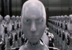 The movie, I, Robot, imagined a future where humanoid robots serve humanity. Image: 20th Century Fox