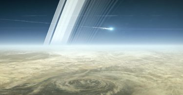 Cassini breakup. Image: NASA/JPL Caltech