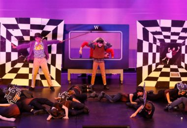 Enoggera State School performing 'Pure Imagination' at the Logan Entertainment Centre on 22 August 2017. Photo: WinkiPop Media