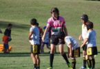 Bailey Patterson, 15, from Queensland, has been a rugby league referee for three years. Photo: supplied