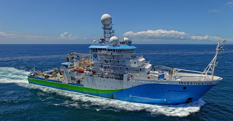 CSIRO's research ship Investigator solved the 74-year-old mystery of the sinking of the SS Macumba. Photo: CSIRO