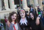Smiles of the un-dead at the Spooktober Halloween Festival in St Kilda, Melbourne in 2016. Photo: supplied