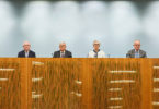 The heads of the Royal Commission into Institutional Responses to Child Sexual Abuse, which ended on December 14. Photo: CARoyalComm